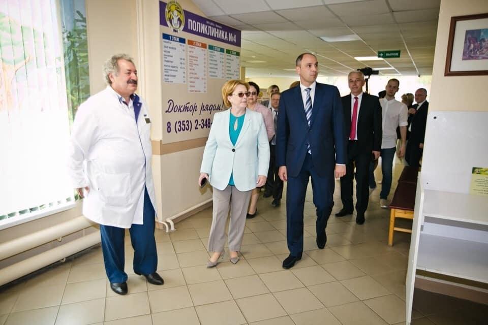 Вероника Скворцова, Министр здравоохранения РФ, посетила поликлинику №4 ДГКБ Оренбурга