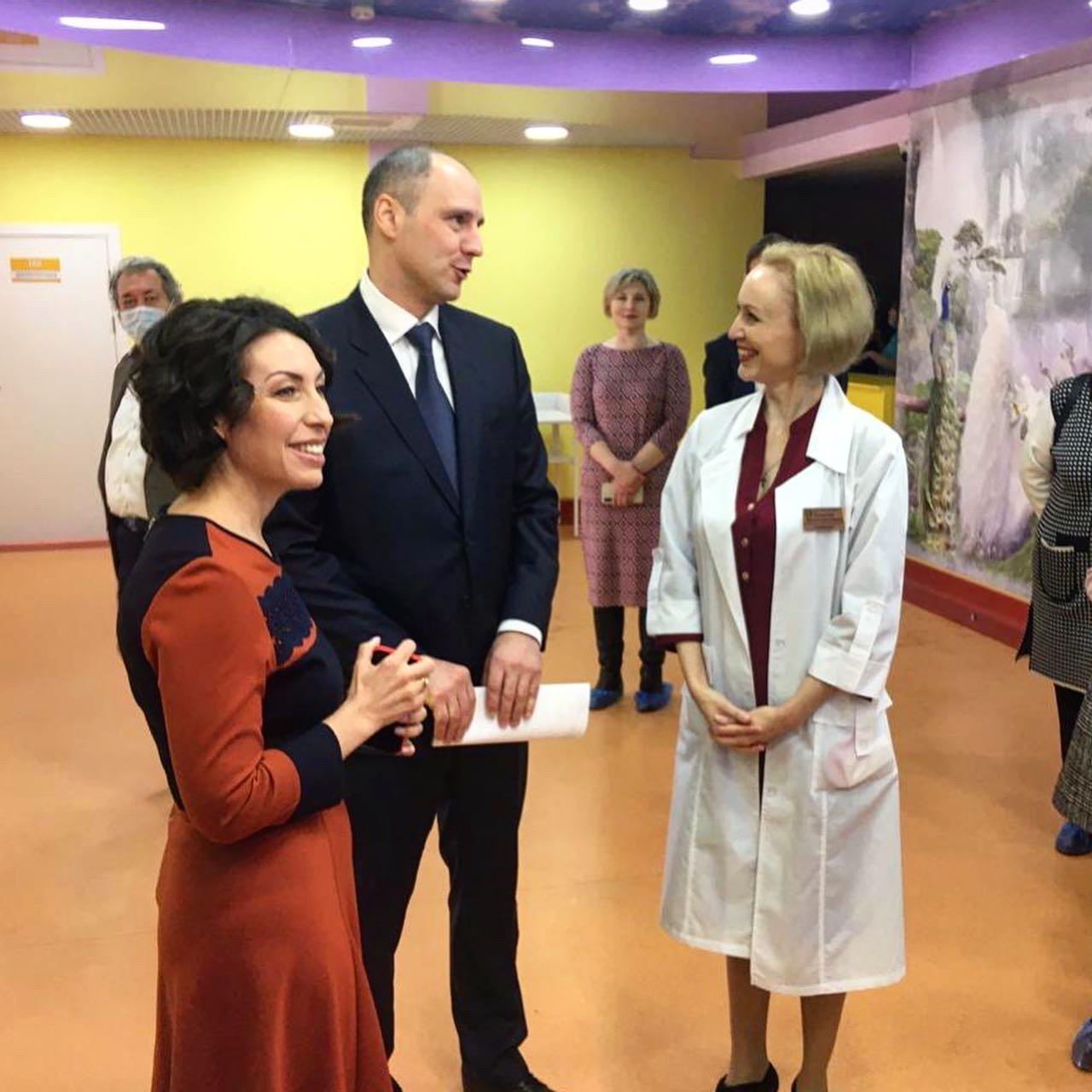 Накануне прошло официальное открытие обновлённых отделений Поликлиники N 4 ДГКБ