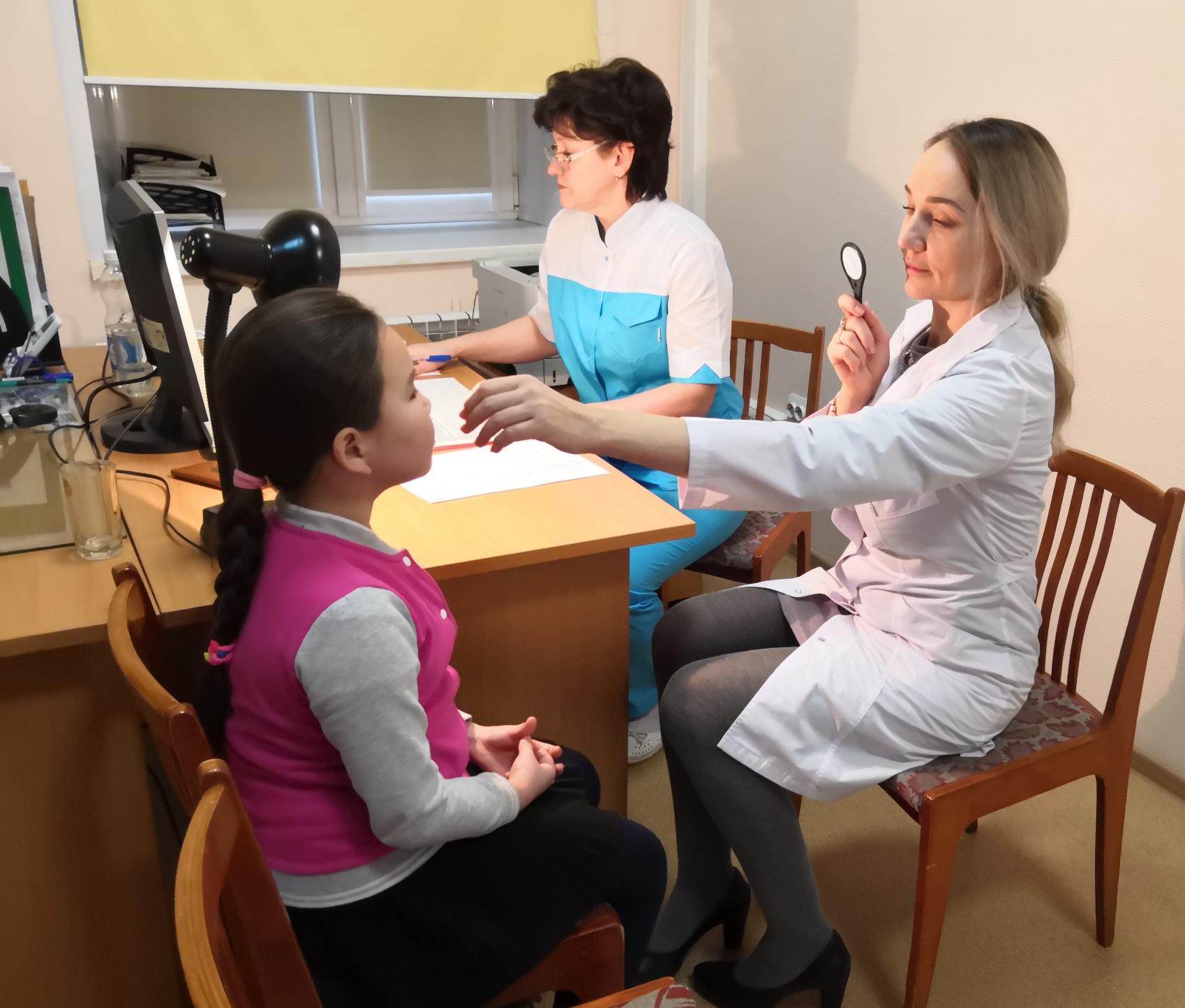 Офтальмологи из Самары в ДГКБ